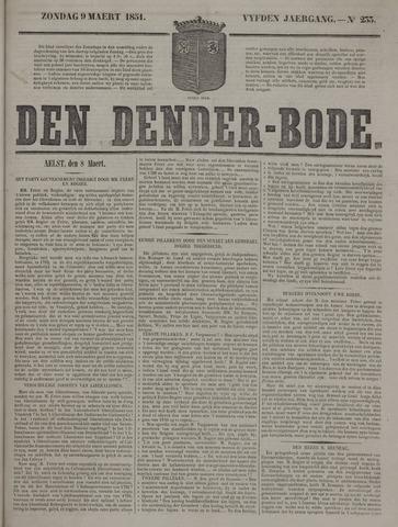 De Denderbode 1851-03-09