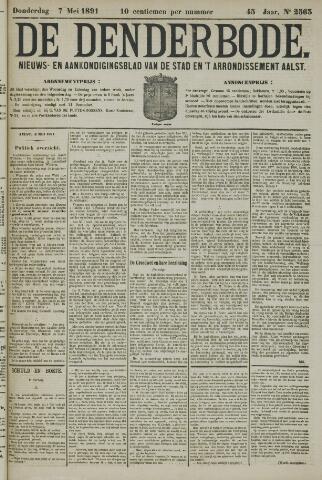 De Denderbode 1891-05-07