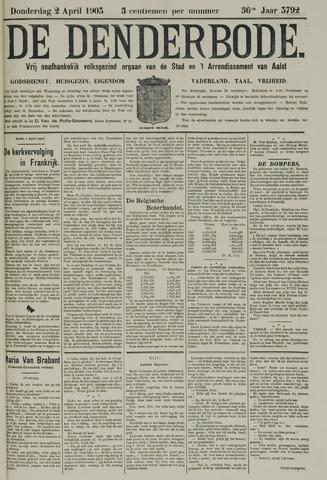 De Denderbode 1903-04-02