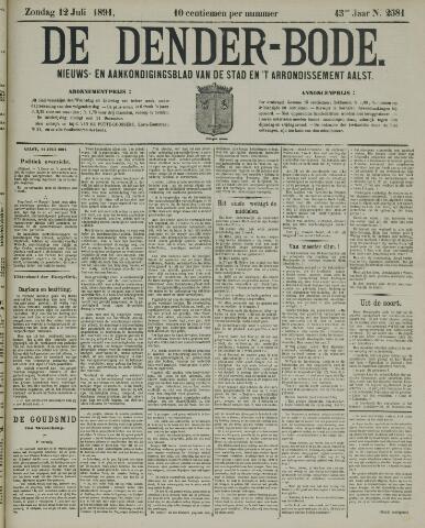 De Denderbode 1891-07-12