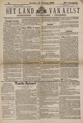 Het Land van Aelst 1888-10-14