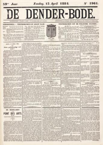 De Denderbode 1884-04-13