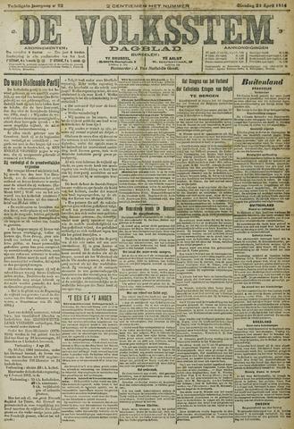 De Volksstem 1914-04-21