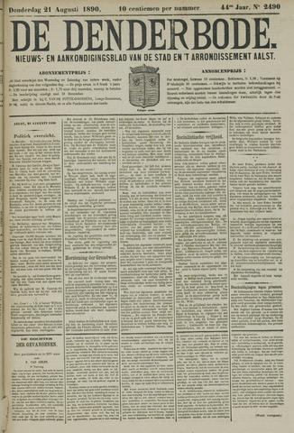 De Denderbode 1890-08-21