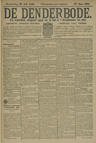 De Denderbode 1898-07-28