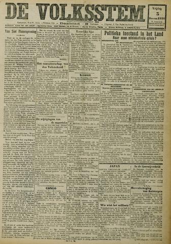 De Volksstem 1926-12-03