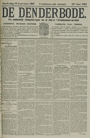 De Denderbode 1907-09-12