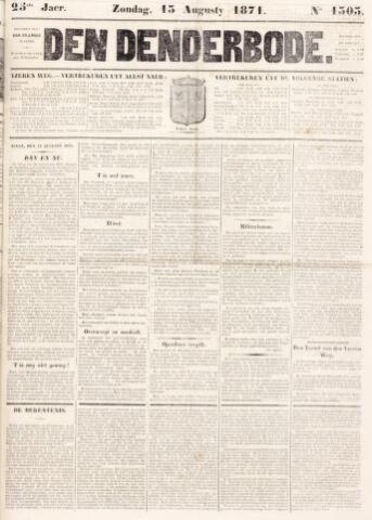 De Denderbode 1871-08-13