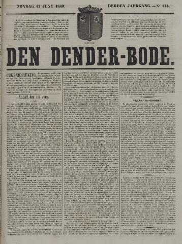 De Denderbode 1849-06-17