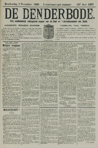 De Denderbode 1909-11-04