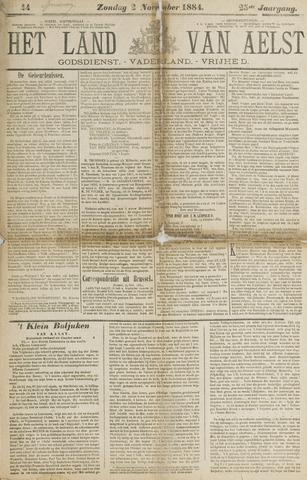 Het Land van Aelst 1884-11-02