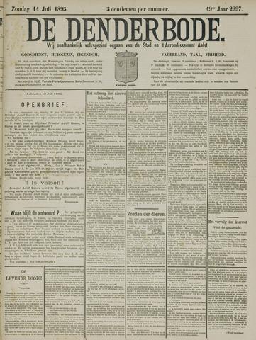 De Denderbode 1895-07-14