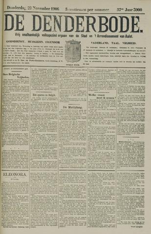 De Denderbode 1906-11-29