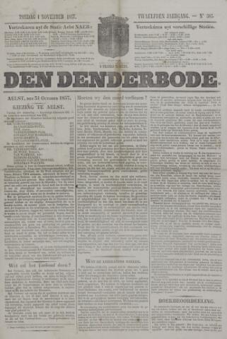 De Denderbode 1857-11-01