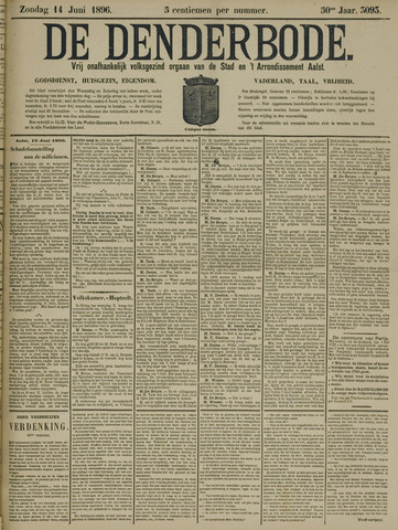 De Denderbode 1896-06-14