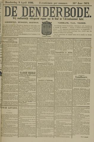 De Denderbode 1896-04-09