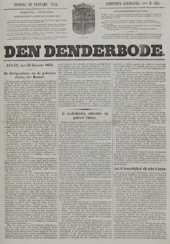 De Denderbode 1854-01-29