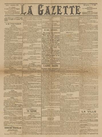 La Gazette 1894