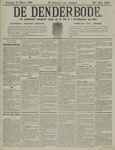 De Denderbode 1903-03-15