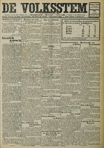 De Volksstem 1926-10-17