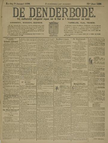 De Denderbode 1898-01-09