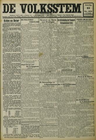 De Volksstem 1932-10-15