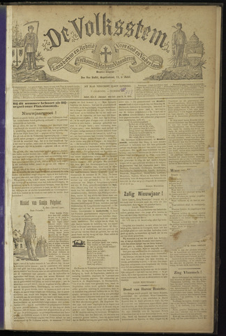 De Volksstem 1901
