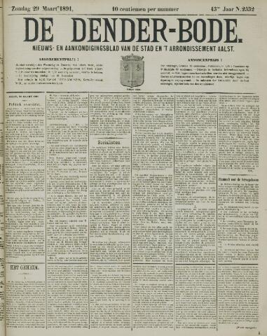 De Denderbode 1891-03-29