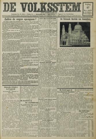 De Volksstem 1931-11-27