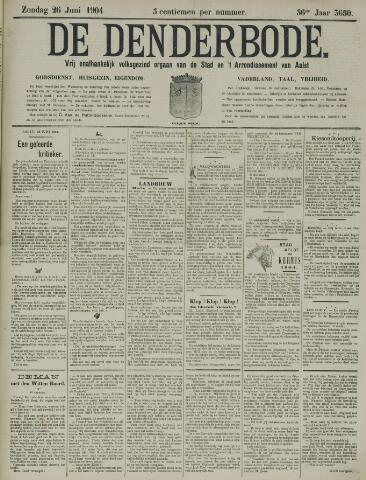 De Denderbode 1904-06-26