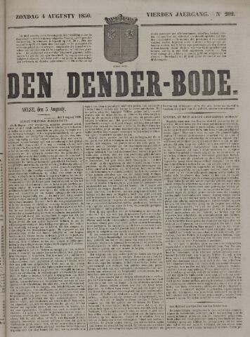 De Denderbode 1850-08-04