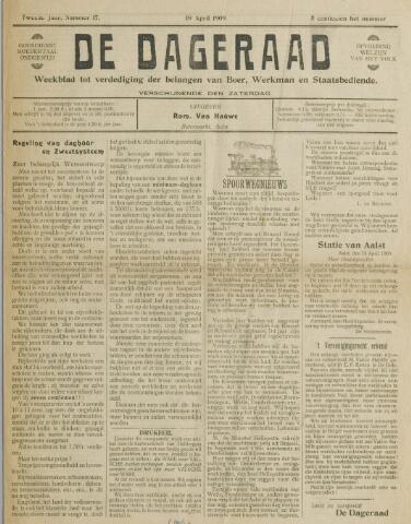 De Dageraad 1909-04-18