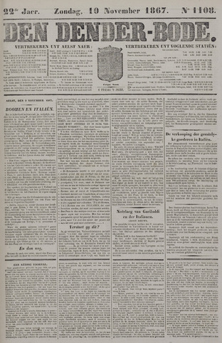 De Denderbode 1867-11-10