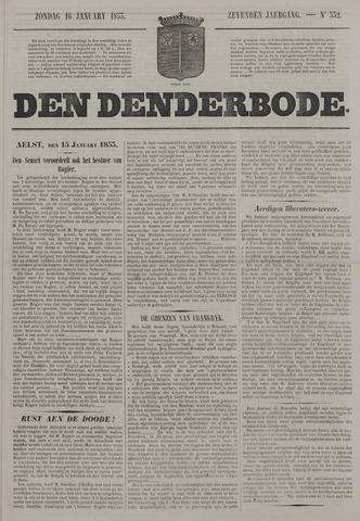 De Denderbode 1853-01-16