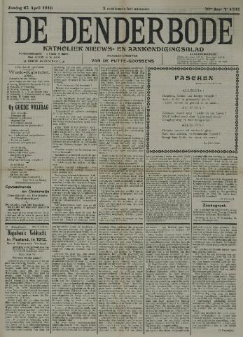 De Denderbode 1916-04-23