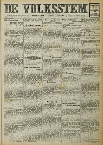 De Volksstem 1926-02-07
