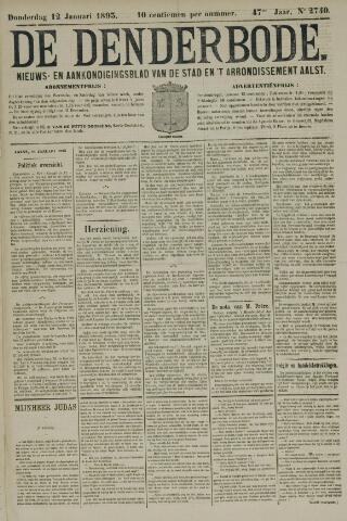 De Denderbode 1893-01-12