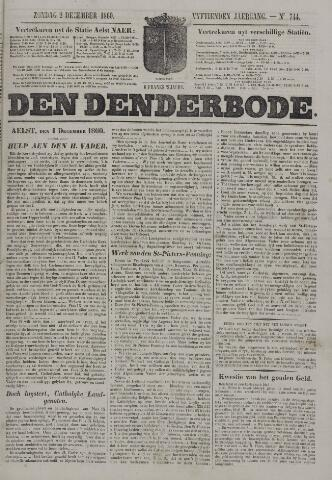 De Denderbode 1860-12-02