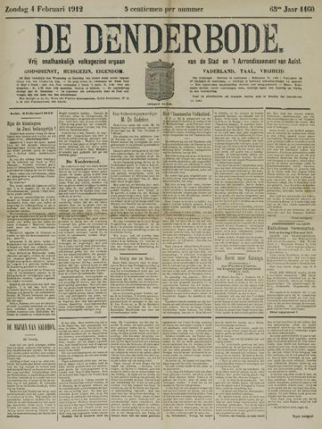 De Denderbode 1912-02-04