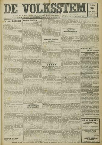De Volksstem 1931-01-30