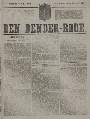 De Denderbode 1851-07-06