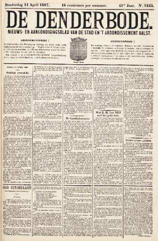 De Denderbode 1887-04-14