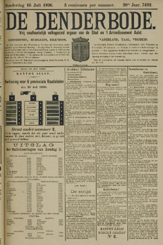 De Denderbode 1896-07-16