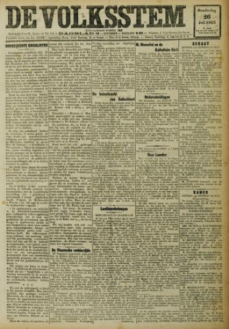 De Volksstem 1923-07-26
