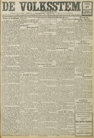 De Volksstem 1930-10-17