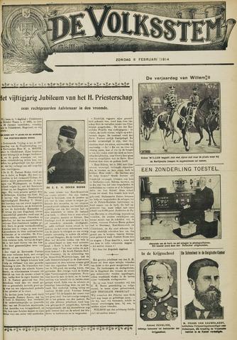 De Volksstem 1914-02-08