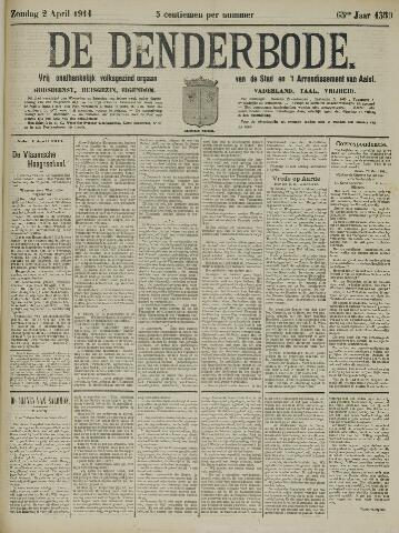 De Denderbode 1911-04-02