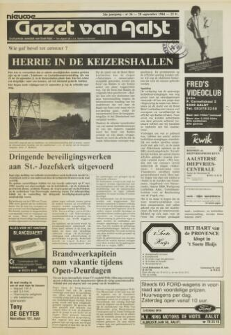 Nieuwe Gazet van Aalst 1984-09-28
