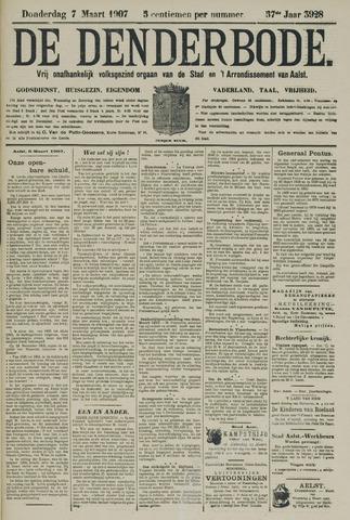 De Denderbode 1907-03-07