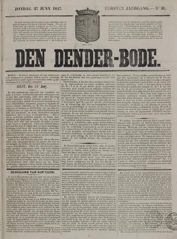 De Denderbode 1847-06-27